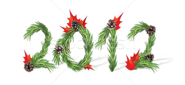 New Year 2012 Stock photo © tanais