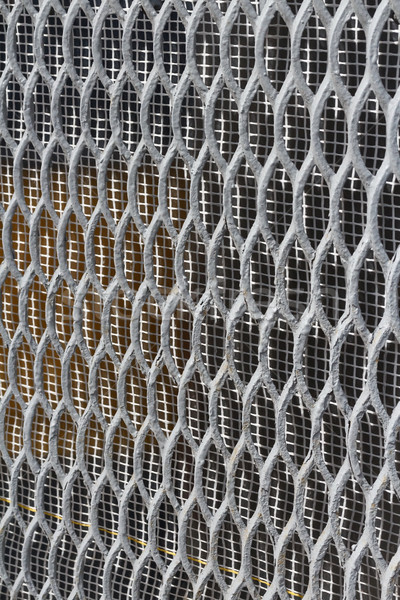 wire netting grid Stock photo © tanais