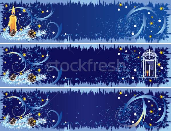 Stock photo: Christmas banners