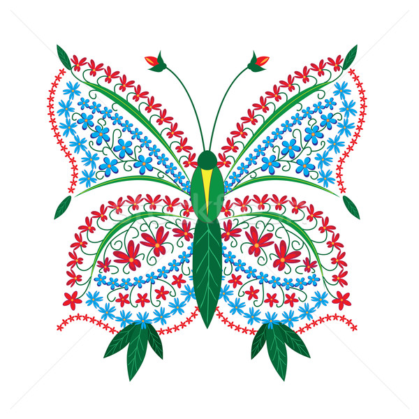 butterfly pattern Stock photo © tanais
