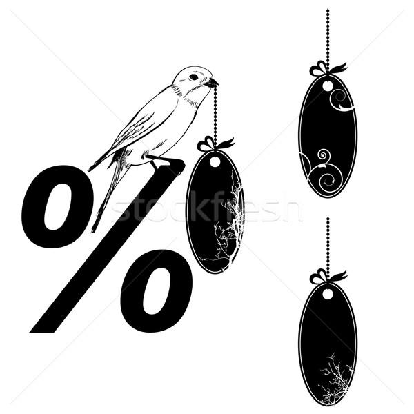 set of the price tags Stock photo © tanais