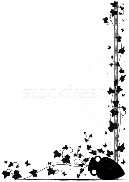 ivy background Stock photo © tanais