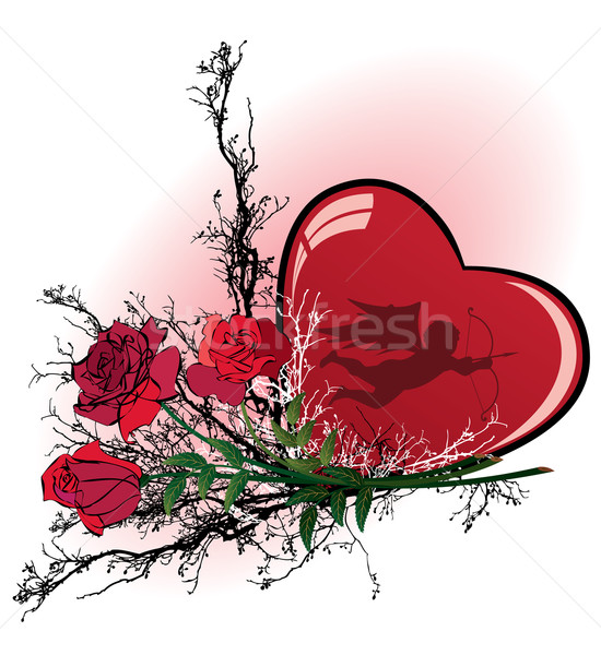 Stock photo: Valentine vector illustration