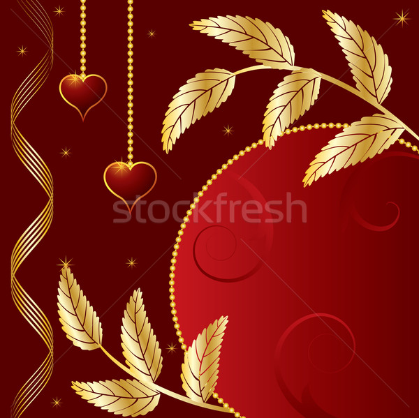 St. Valentine's Day banner Stock photo © tanais
