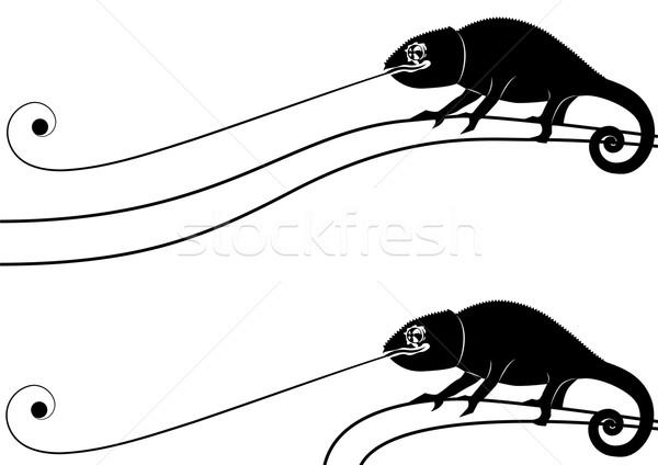 Zestaw wektora banery streszczenie czarny wzór Zdjęcia stock © tanais