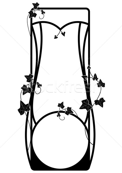 vector frame with ivy  Stock photo © tanais