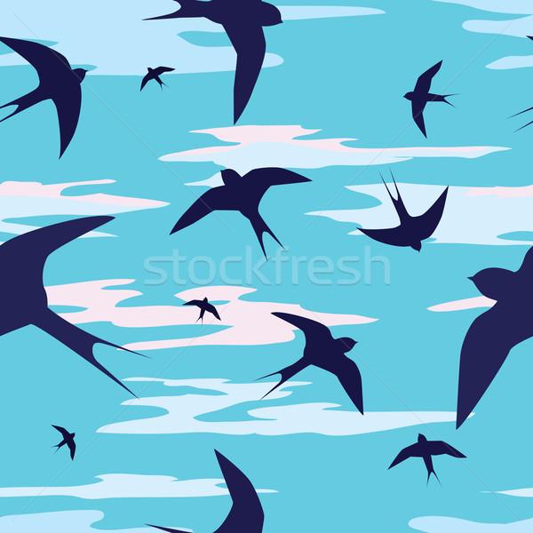 swallows Stock photo © tanais