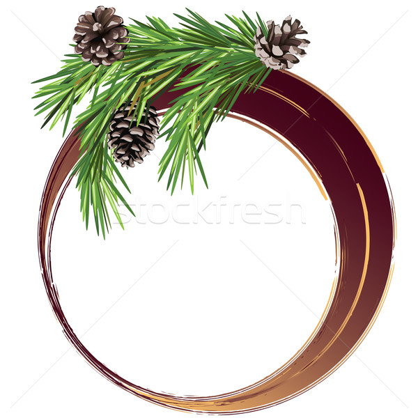 Stock photo: Christmas and New Year banner