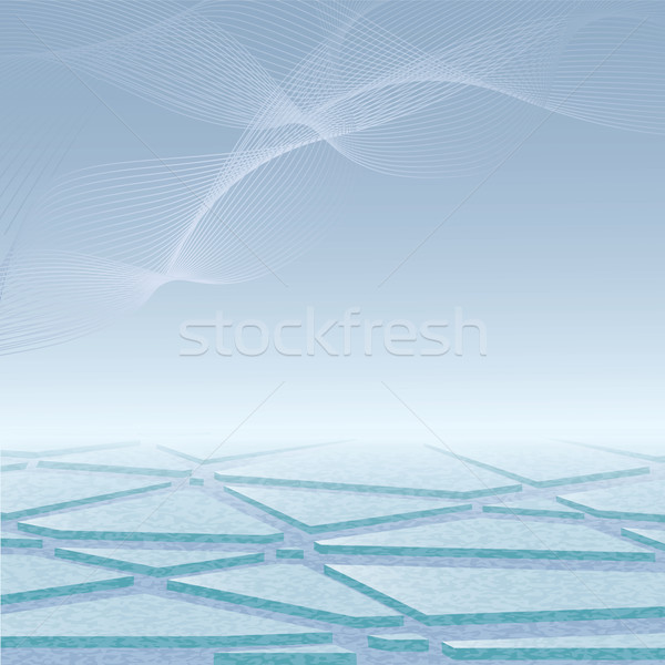 arctic ice Stock photo © tanais