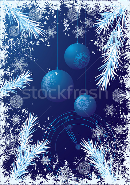 New Year background Stock photo © tanais