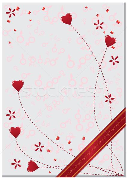 valentine background Stock photo © tanais