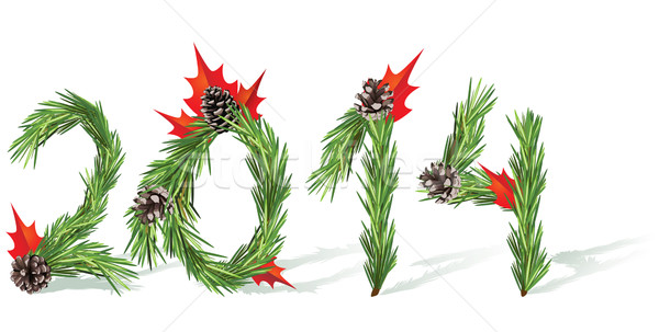 New Year 2014 Stock photo © tanais