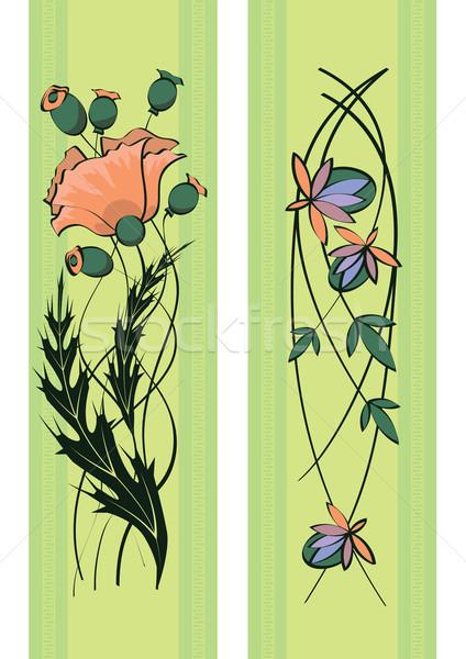 floral pattern Stock photo © tanais