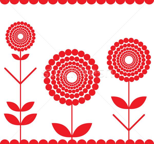 red fringe Stock photo © tanais