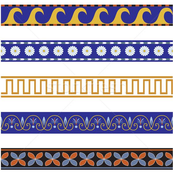 seamless ornamental pattern Stock photo © tanais