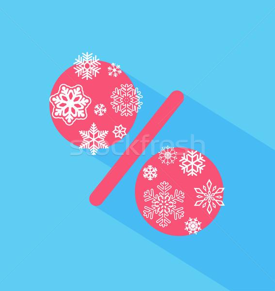クリスマス 販売 デザイン 実例 ベクトル 雪 ストックフォト © tandaV