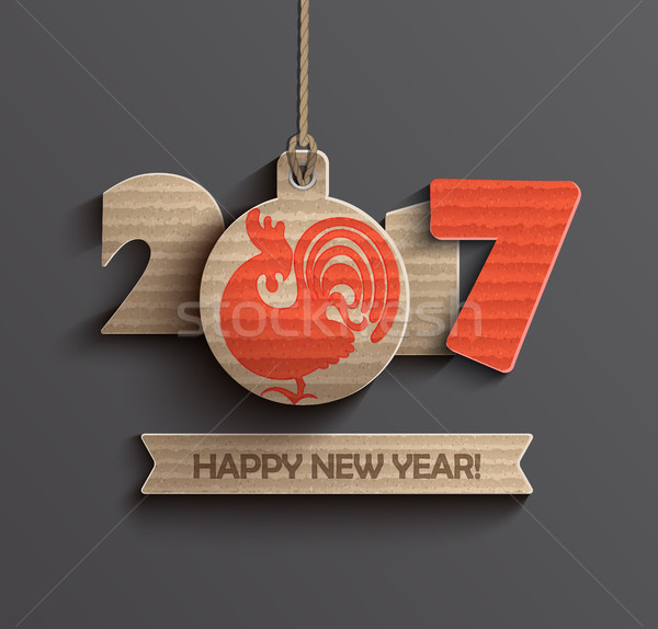 Happy New Year 2017. Stock photo © tandaV