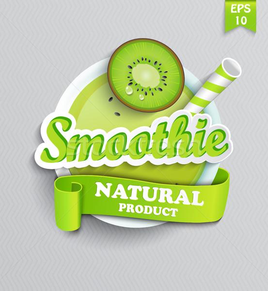 символ природного льстец лента продовольствие здоровья Сток-фото © tandaV