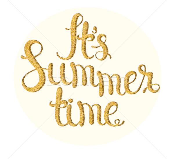 It's summer time. Stock photo © tandaV