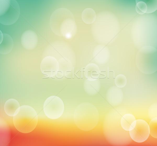 осень природы bokeh аннотация свет дизайна Сток-фото © tandaV