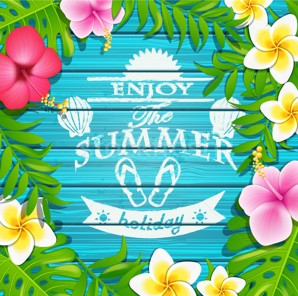 Enjoy the summer holiday. Stock photo © tandaV