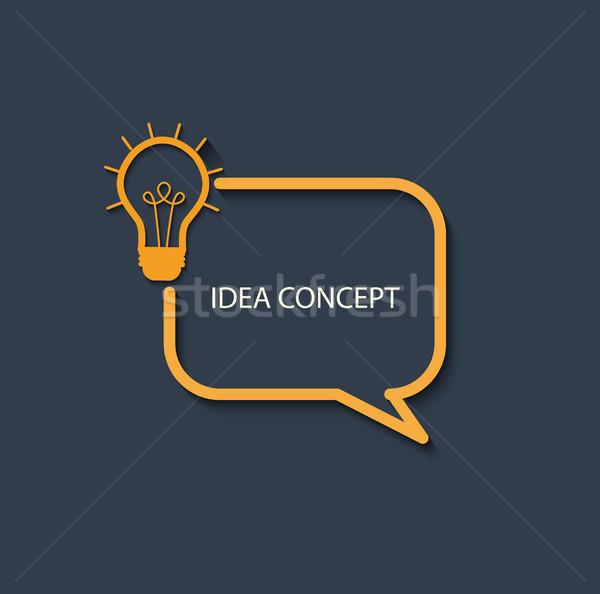 Vector startup concept. Stock photo © tandaV