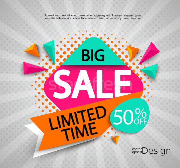 Big Sale - limited time. Stock photo © tandaV