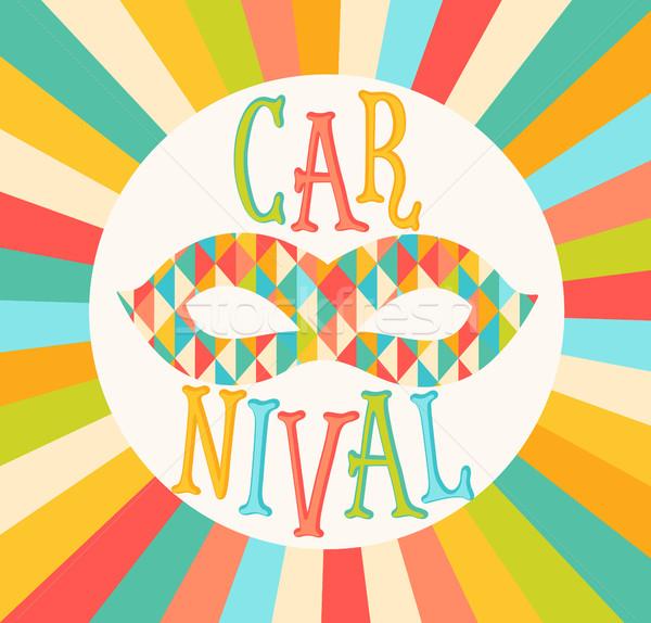 Vector carnival funfair. Stock photo © tandaV