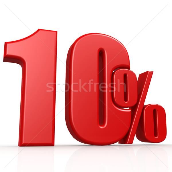 десять процент изображение оказанный используемый Сток-фото © tang90246