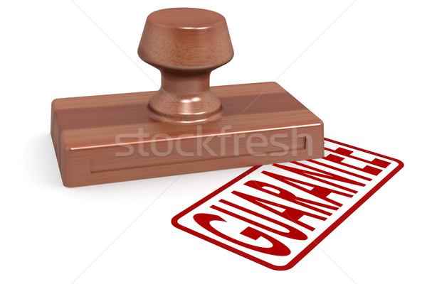 Wooden stamp censored with red text Stock photo © tang90246