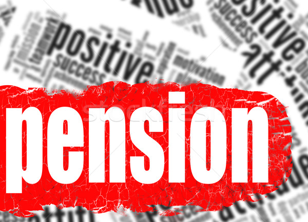 Word cloud pension  Stock photo © tang90246