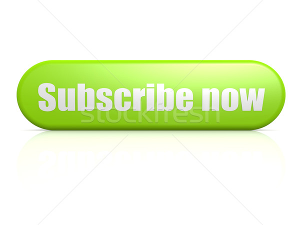 Subscribe now green button Stock photo © tang90246