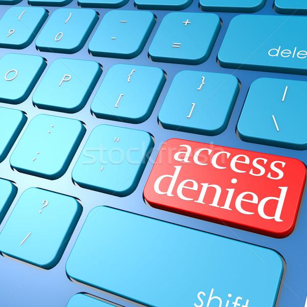 アクセス キーボード コンピュータ 作業 技術 ストックフォト © tang90246