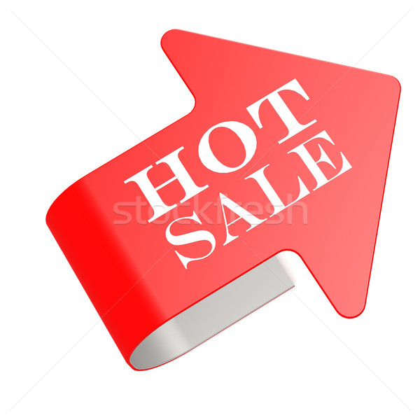 Hot sale twist label Stock photo © tang90246