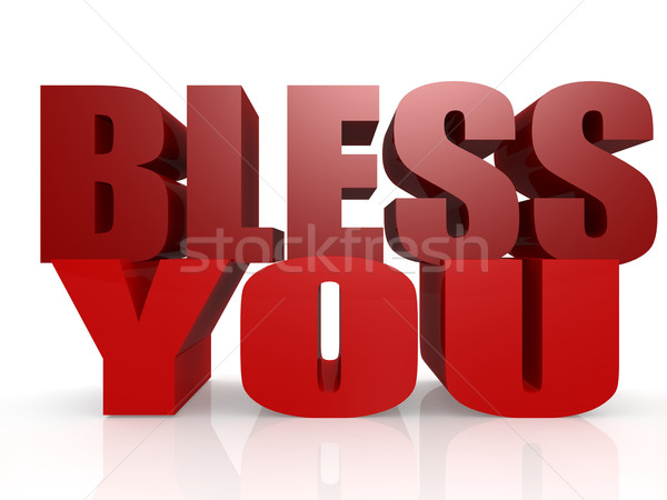Bless you Stock photo © tang90246