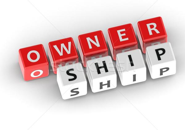 Ownership Stock photo © tang90246