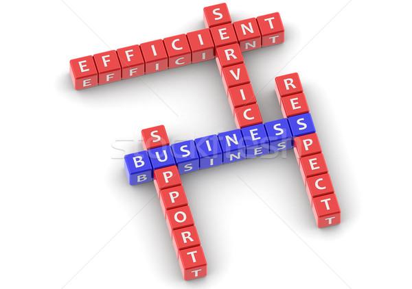 üzlet kép renderelt mű használt grafikai tervezés Stock fotó © tang90246