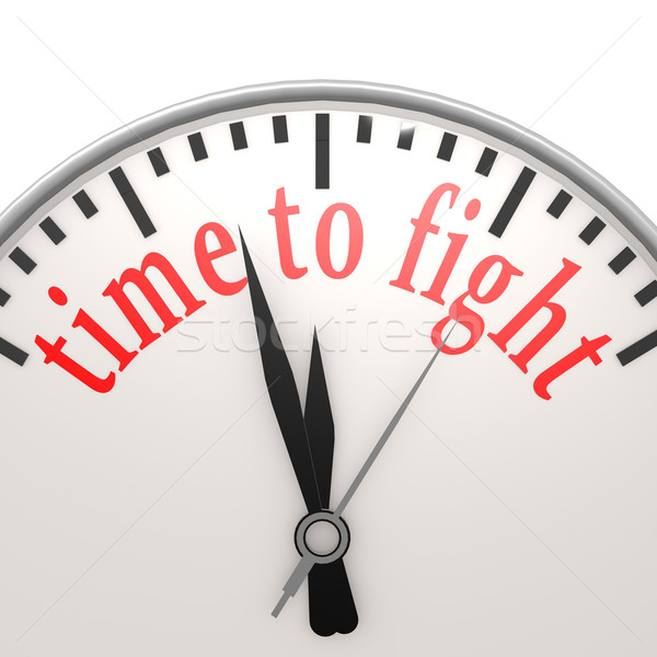 Time to fight clock Stock photo © tang90246