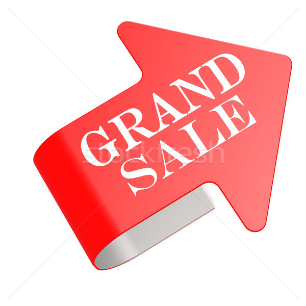 Grand sale twist label Stock photo © tang90246