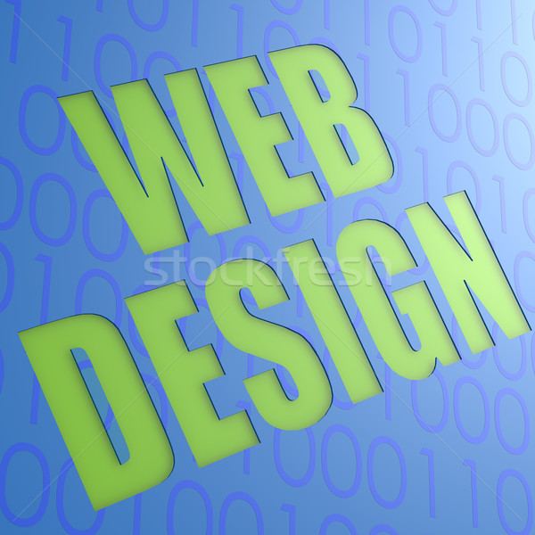 Web design Stock photo © tang90246