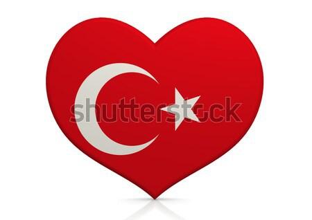 Törökország szív háttér utazás vidék ötlet Stock fotó © tang90246