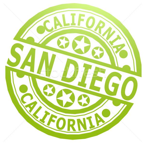 San Diego selar imagem prestados usado Foto stock © tang90246