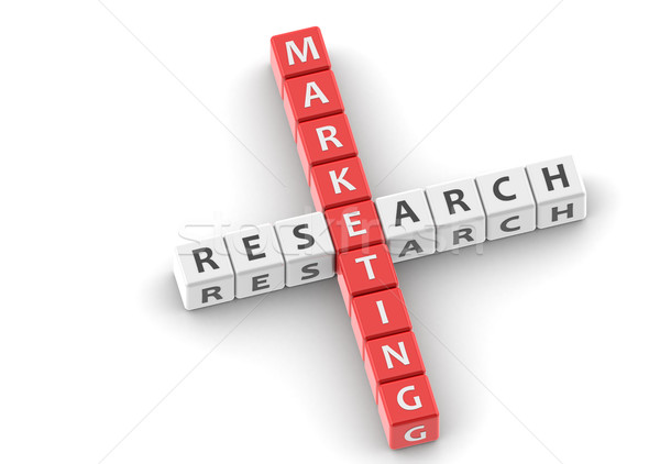 Buzzwords marketing research Stock photo © tang90246
