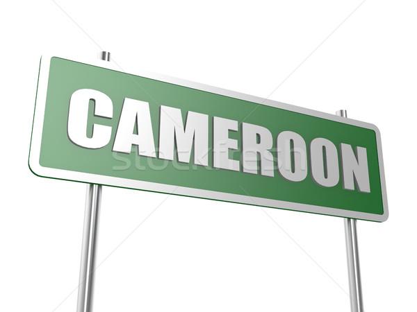 Camarões imagem prestados usado design gráfico Foto stock © tang90246