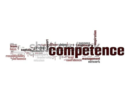 Competence word cloud Stock photo © tang90246