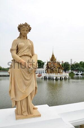 Knal pijn paleis koninklijk zomer reizen Stockfoto © tang90246