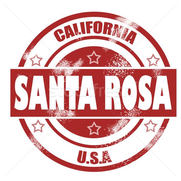 Santa Rosa Stamp Stock photo © tang90246