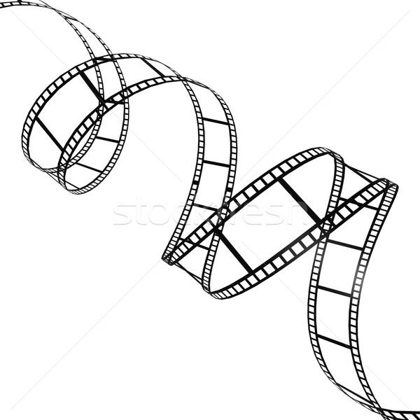 Stockfoto: Filmstrip · film · ontwerp · achtergrond · kunst · industrie