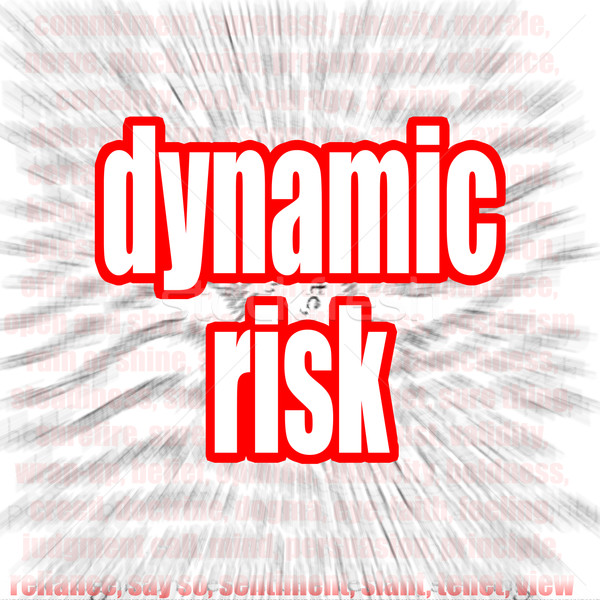 Dynamic risk Stock photo © tang90246