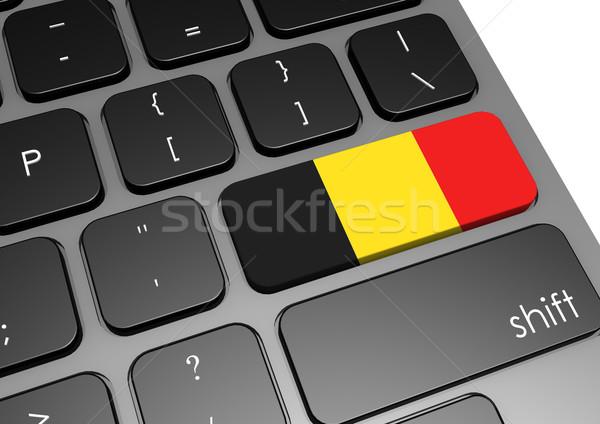 ベルギー キーボード 画像 レンダリング 中古 ストックフォト © tang90246